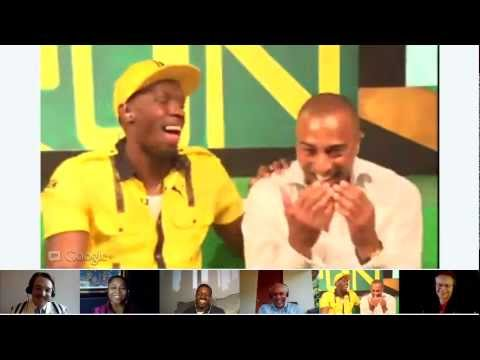 Image of Google+ Hangout On Air with Usain Bolt (London 2012)