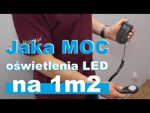 Jaka moc światła oświetlenia LED na 1m2 - #56