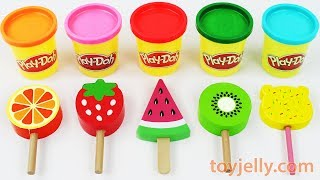 Video Toy Ice Cream Play Doh Popsicles Learn Colors for Babies Toddlers Preschoolers Kinder Sursrise Eggs MP3, 3GP, MP4, WEBM, AVI, FLV April 2019