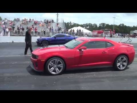 2013 Camaro ZL1 vs. 2013 Shelby GT500