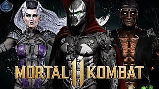 Mortal Kombat 11 - Spawn, Sindel and Nightwolf First Looks TEASED!
