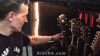 Backstage Depeche Mode Martin Gore's gear @ Los Angeles Staples Center Oct, 2013
