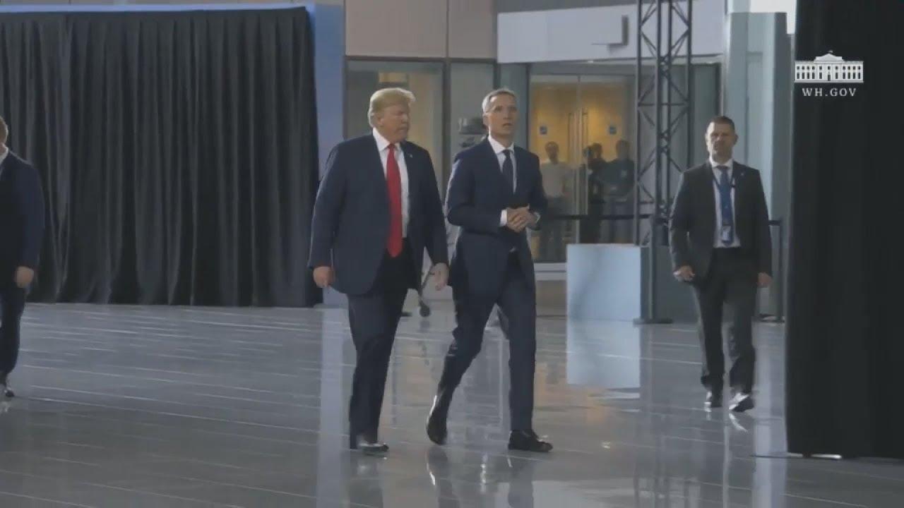 Στη σύνοδο του ΝΑΤΟ ο N. Τραμπ