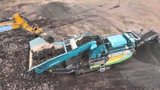Powerscreen Maxtrak 1150 cone crusher