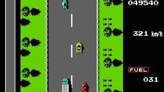 NES Longplay [762] Road Fighter
