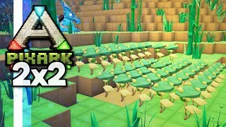 Should I Cheat The Grass? • PixARK 2x2 Server