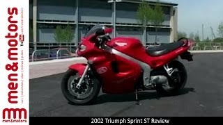 10. 2002 Triumph Sprint ST - Brief Overview