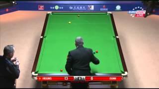John Higgins - Mike Dunn (Frame 5) Snooker Shanghai Masters 2013 - Round 1