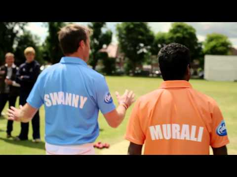 Murali vs Swanny 50p Rubicon Challenge 