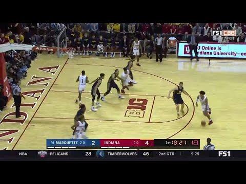 IUBB - IU vs. Marquette Highlights