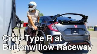 Video 1ST LOOK: 2017 Honda Civic Type R on track at Buttonwillow Raceway CW13 w/ Laptime MP3, 3GP, MP4, WEBM, AVI, FLV Agustus 2017