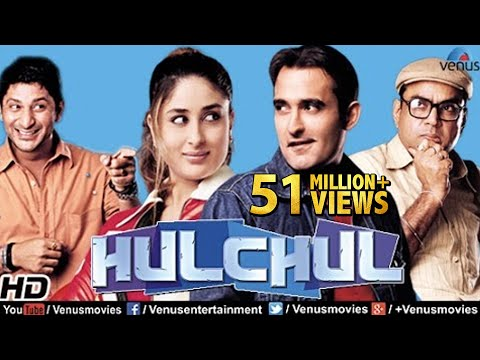 Hulchul | Hindi Movies 2016 Full Movie | Akshaye Khanna | Kareena Kapoor | Bollywood Comedy Movies (видео)