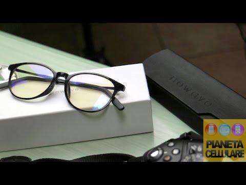 Recensione occhiali Nowave con filtro per luce blu dei Display