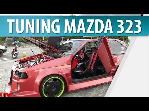 Autos modificados / Mazda 323 tuning en Muy Masculino.