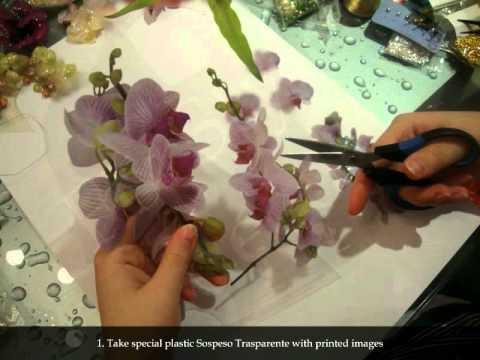 Sospeso Trasparente Is A Volume Decoupage Decorative Technique