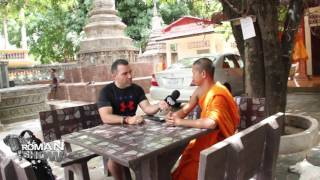 The Roman Show visited Buddhist temple Wat Kesraram in Siem Reap, Cambodia and spoke to monk Kenng Lonng about the myths of fighting monks, beliefs and becoming a monk.
