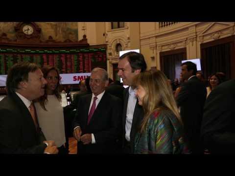 Exitosa colocación de SMU en la Bolsa de Santiago