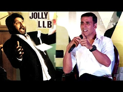Video Akshay Kumar's BEST Reply To Reporter Comparing Jolly LLB 2 To Arshad Warsi's Jolly LLB download in MP3, 3GP, MP4, WEBM, AVI, FLV January 2017