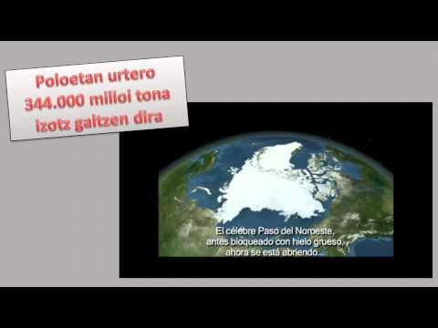 Aldaketa klimatikoaren benetako arazoak