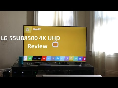 LG 55UB8500 55 Inch 4K Ultra HD Review [4K]