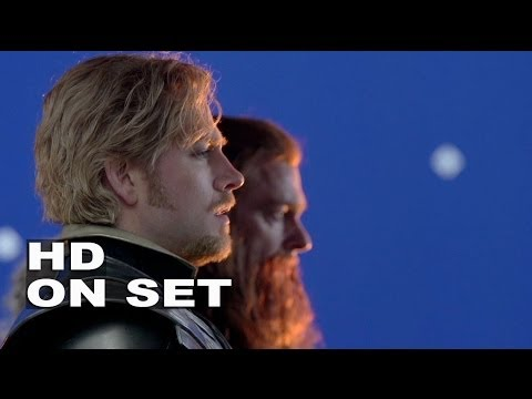 """Thor 2: The Dark World: Behind the Scenes with Zachary Levi """"Fandral"""" (All His Broll)"""