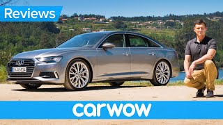 New Audi A6 2019 review – see w
