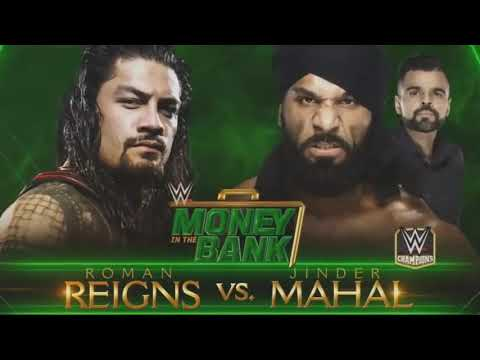 WWWe money in the bank 2018