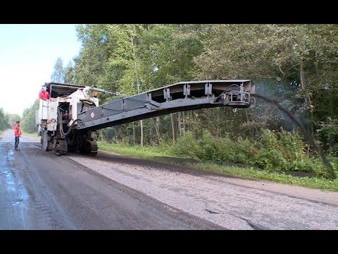 В порядок приводят участки трасс в Хвойнинском и Боровичском районах