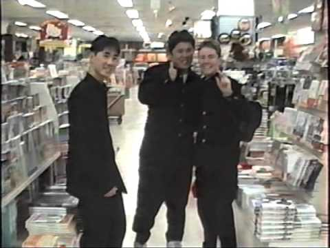 My friend Adrian from Australia showing Yaohan department store and grocery - 1993