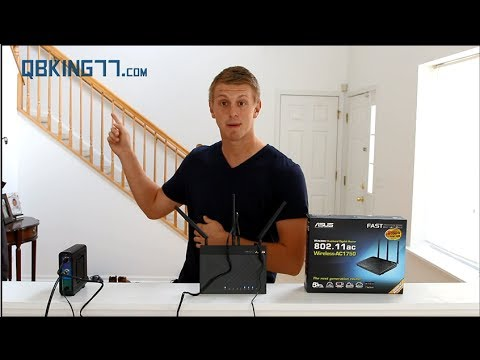 Asus RT-AC66U 802.11ac Router Review and Unboxing