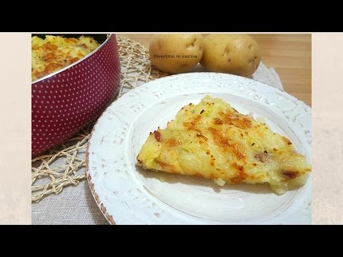 video ricetta: sbriciolata di patate