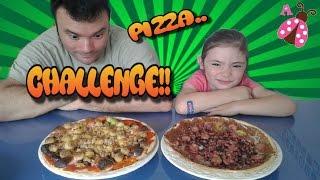 PIZZA CHALLENGE - Reto de la Pizza con mi padre