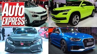 Best cars at the 2016 Paris Motor Show by Auto Express