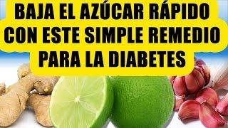 Encuentra a continuación un simple y efectivo remedio casero para bajar el azucar y controlar la diabetes de forma natural. Este remedio puede ser de gran ...