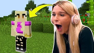 MY FRIEND HALEY IS REPLACING JEN IN MINECRAFT?!? by PopularMMOs
