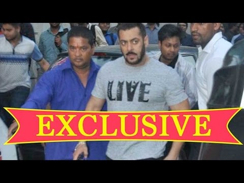 Salman Khan Caught Someone Secretly Recording Sult