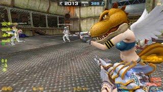 Counter-Strike Nexon: Zombies Zombie Scenario Mode online gameplay on zs_bosschase map