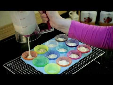 فكرة كب كيك السمكة من مطبخ سمر - how to make fish cup cake