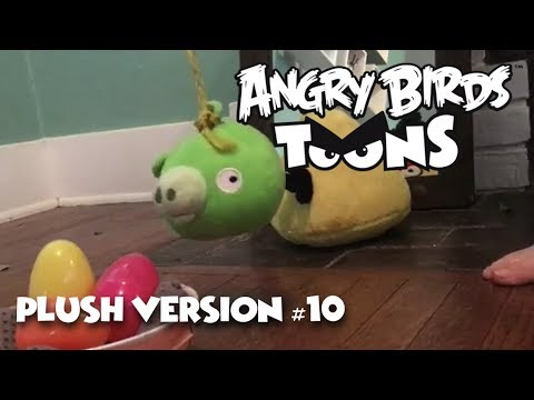"""Angry Birds Toons (Plush Version) - Season 1: Ep 14 - """"Dopey is on a Rope"""""""