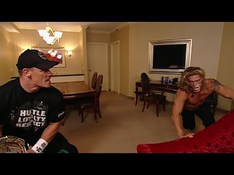 John Cena surprises Edge and Lita - Raw: July 20, 2006 (видео)