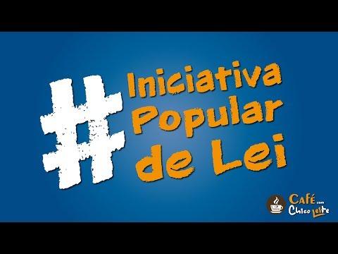 Café com Chico Leite: Iniciativa popular de Lei
