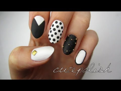 Video Of The Week: Monochrome Nails