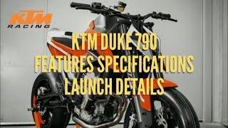 5. KTM Duke 790 Official Trailer Features Price Specifications Launch Details