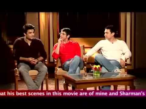 Aamir, Sharman, Madhavan On Fire