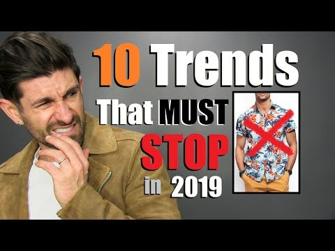 Mens hairstyles - 10 Style Trends Men Need To STOP Wearing!!!