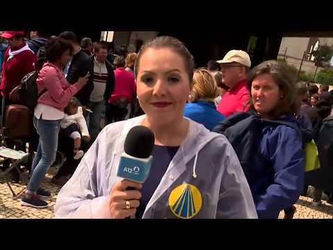 A12   Emoção brasileira marca canonização dos Pastorinhos de Fátima