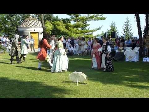 Historia Subalpina alla festa barocca per Amedeo - Castello di Castellamonte, giungo 2013 (видео)