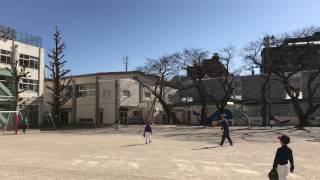 第四日野小学校 練習風景