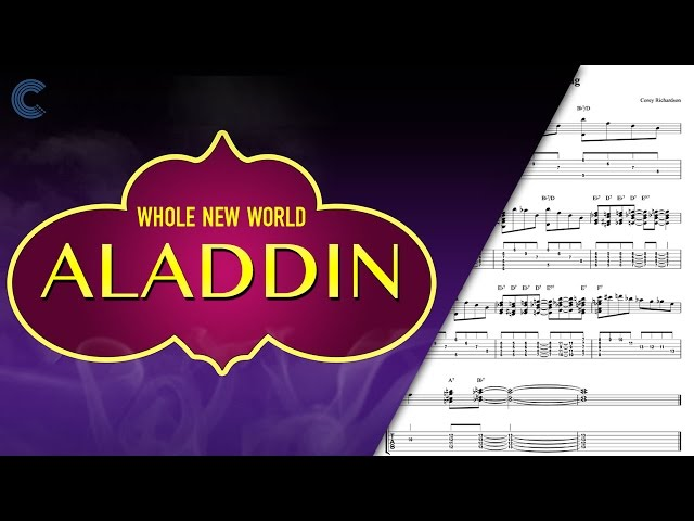 Violin A Whole New World Aladdin Sheet Music Ch ...