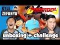 chokichoki boboiboy AR card unboxing + isep coklat challenge (with Dyland PROS)